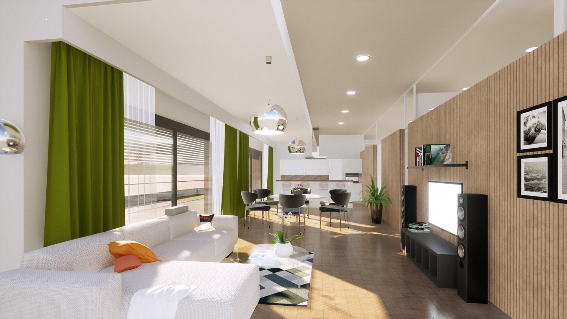 Handwerkerhof Neuhimmelreich - Ideenskizze Innenraumgestaltung